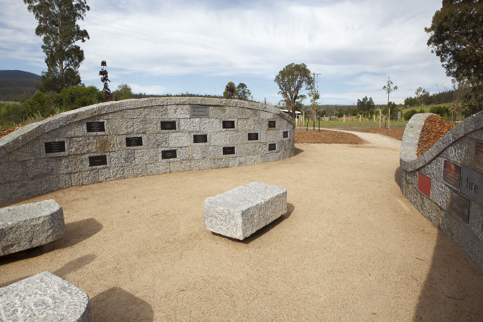 Whittlesea Bushfire Memorial, Australia