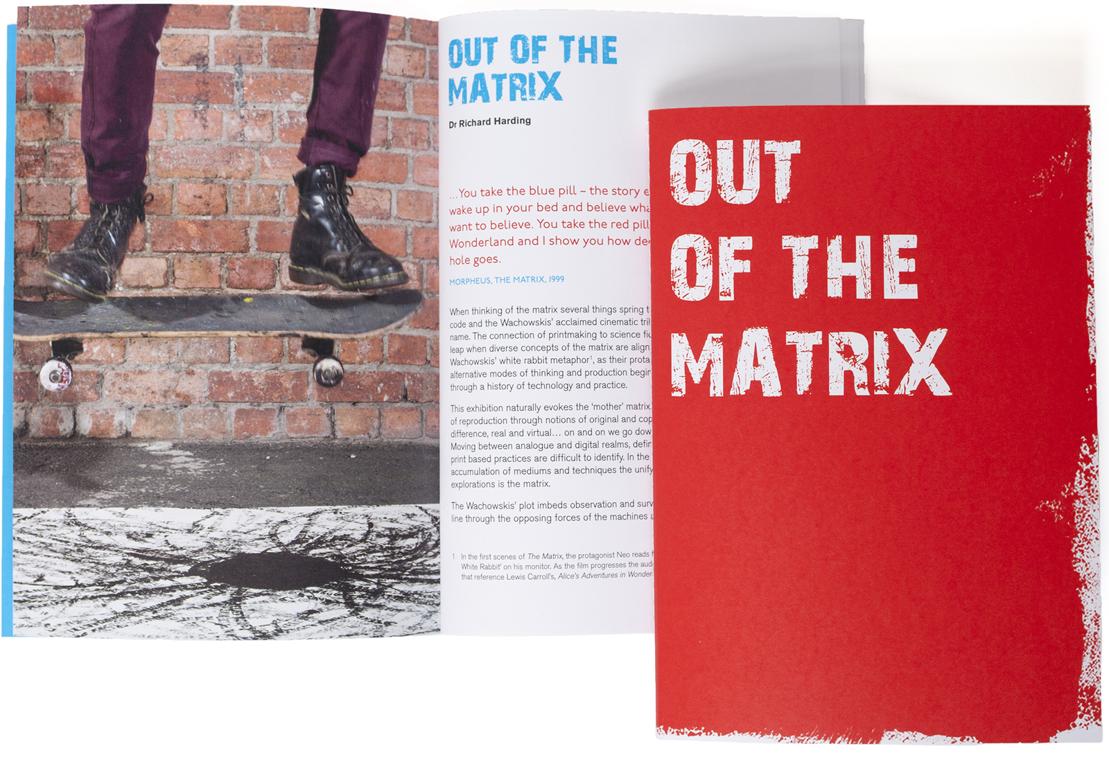 "RMIT Gallery / ""Out of the Matrix"" catalogue"